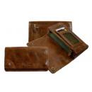 wholesale Haberdashery & Sewing: Biker Wallet /  Rodeo-washed 24-natural