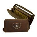 Großhandel Taschen & Reiseartikel: Kuvertbörse / EDELWEISS - 25-brown