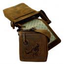 Großhandel Handtaschen: Umhänger Unisex / BULL&SNAKE ( 25-braun )