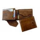 wholesale Wallets: 3tlg. Wallet / rodeo-washed 24-natural