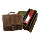 grossiste Fournitures scolaires: 5 pcs. Briefcase 24 = naturbraun