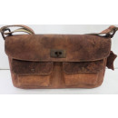 Casualbag /  Vintage krąg (25) -WASHED BROWN