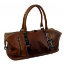 Großhandel Reise- und Sporttaschen: Weekender / SCOTH  - (25)-whisky-m. darkbrown