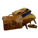 wholesale Handbags: Casual Briefcase /  RUGGED-HIDE- (24) WASHED-BROW