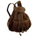 Rucksack /  OLD-SCHOOL - (25)-vintage-brown