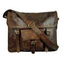 Großhandel Handtaschen: Cambridge Post,- Messengerbag ( ( 25-braun,20-schw