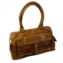 grossiste Bagages et articles de voyage: Casual Citybag /  ROBUSTE-Masquer- (24) WASHED BROW