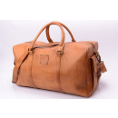 wholesale Travel and Sports Bags: Travel bag 24 - cognac washed