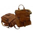 Großhandel Handtaschen: Casual Postbag / Rodeo-washed 24-natural