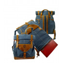 wholesale Backpacks: Rolling Backpack Postbag / SAILCLOTH- (26) ...