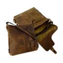 ingrosso Borse & Viaggi: Postbag / vecchia  scuola - (25 )-Vintage- marrone