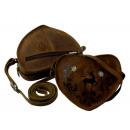 Großhandel Handtaschen:-Herz  Umhängetasche / EDELWEISS - 25-braun