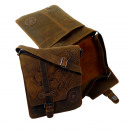 grossiste Bagages et articles de voyage: Casualbag  (25-Brown) Unisexe / BULL & SERPENT