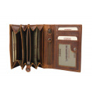 wholesale Wallets: 5tlg. Envelope wallet / New Grassland 25-brown