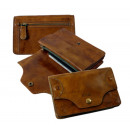 wholesale Wallets: 3-piece flap wallet / rodeo-washed ...