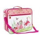 Kinderkofferset,  2-teilig, Mara, Polyester, pink