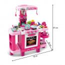 Kinderküche pink