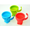 wholesale Cups & Mugs: Cup silicone  folding PROMIS TM-02K