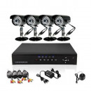 wholesale Business Equipment: 4 camera surveillance system, camera ...