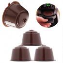 Großhandel Kaffee- und Espressomaschinen: Wiederaufladbare Kaffeekapsel 5St