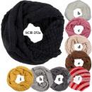 SCH-252a Tubeschals de métro à tricoter foulards à
