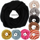 SCH-257a Tube  Tubeschals  knitting scarves ...