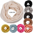 SCH-257b Tube Tubeschals knitting scarves in whole