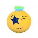 Punk Emoticon Pillows star eye yellow