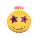 Punk Emoticon Pillows star yellow in both eyes