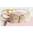 grossiste Bijoux & Montres: B010 Bracelet Bow Cristaux strass