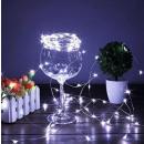 groothandel Lichtketting: Draden 25 LED-lampen koud wit