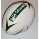 Rugby ball toy dog