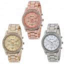 wholesale Jewelry & Watches: GENEVA watch gold  silver rhinestones Svarowski