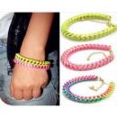 grossiste Bracelets: B014 Bracelet NEON NEON 3 couleurs