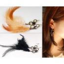 grossiste Bijoux & Montres: PLUMES K055  Boucles  d'oreilles ...