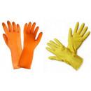 groothandel Reinigingsproducten:Huishoudenhandschoen  en, rubber stroomden ML XL