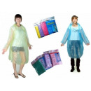 wholesale Coats & Jackets: Poncho raincoat with a plastic cape