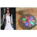 ingrosso Gioielli & Orologi: Collana del pendente N074 Lotus Flower MINT ...