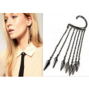 K032 earrings Earring Earrings Punk EMO 4 Colors