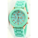 wholesale Jewelry & Watches: Watch GENEVA Jelly Watch Mint 7 Colors
