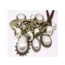 grossiste Bijoux & Montres: N085 collier de  perles rétro Vintage style