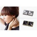 wholesale Earrings: K114 Earrings CRYSTAL 2 retro colors Vintage