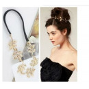 wholesale Hair Accessories: Eraser band Diadem  LEAVES style ASOS to coca