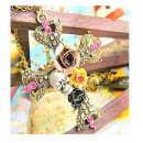 N111 Necklace pendant CROSS skull Gothic