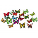 grossiste Magnetique: Papillons papillons aimants 3D