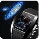 Binary LED Watch  FORMULA 1 F1 6 colors