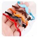 Großhandel Schmuck & Uhren: B029 Armband schnurrbart 7 Farben