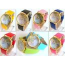 groothandel Sieraden & horloges: HIT horloge MAP  WERELD EUROPA 9 kleuren Asox