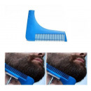Ein Bart, der Kamm kämmt
