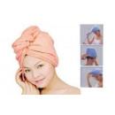 wholesale Bath & Towelling: turban head towel mix color